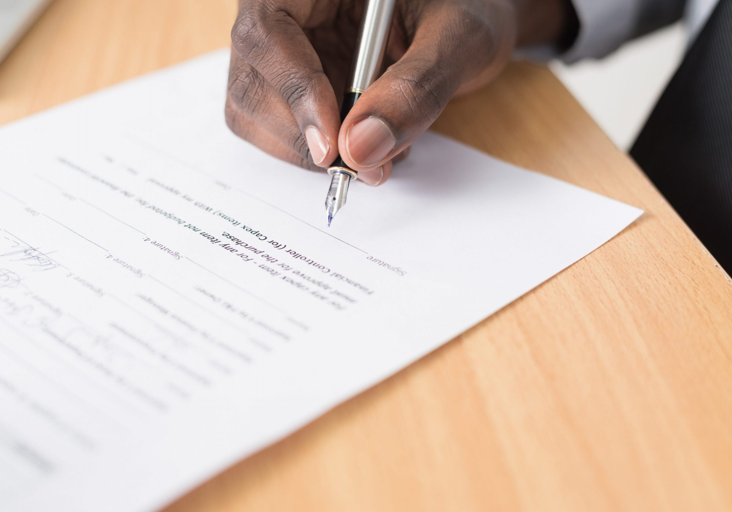 HR Services - contract of employment